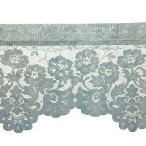 3 JC Penney Valances Curtains Lace Luxury Blue